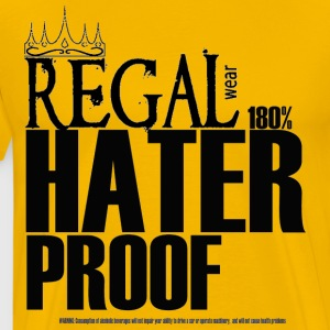 Regal Wear: 180% Hater Proof T-Shirts - Men's Premium T-Shirt