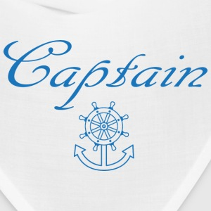 Nautical ship wheel and anchor Caps - Bandana
