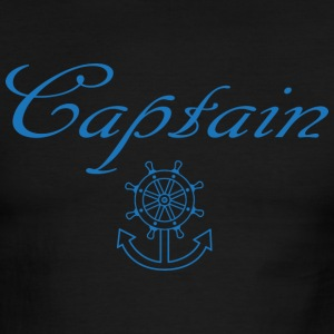 Nautical ship wheel and anchor T-Shirts - Men's Ringer T-Shirt