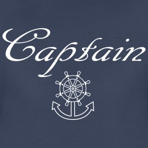 Nautical ship wheel and anchor Women's T-Shirts - Women's Premium T-Shirt
