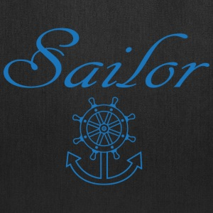 Nautical ship wheel and anchor Bags & backpacks - Tote Bag
