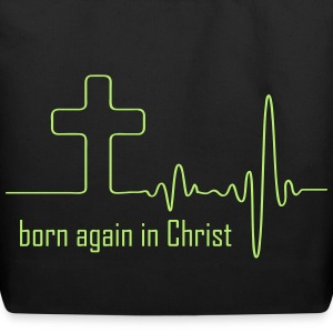 Born again in Christ Bags & backpacks - Eco-Friendly Cotton Tote