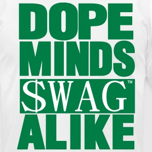DOPE MINDS SWAG ALIKE T-Shirts - Men's T-Shirt by American Apparel