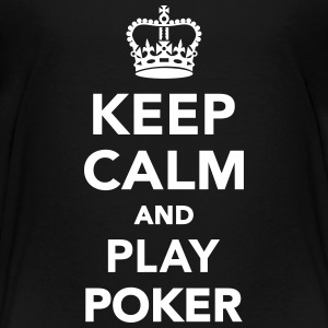 Keep calm and play Poker Kids' Shirts - Kids' Premium T-Shirt