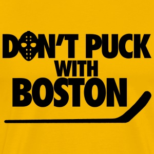 Don't Puck With Boston T-Shirts - Men's Premium T-Shirt
