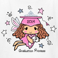 Graduation Princess 2014 Kids' Shirts