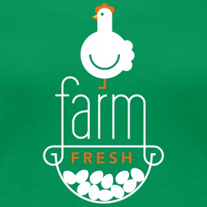 Farm Fresh Eggs - Women's Premium T-Shirt