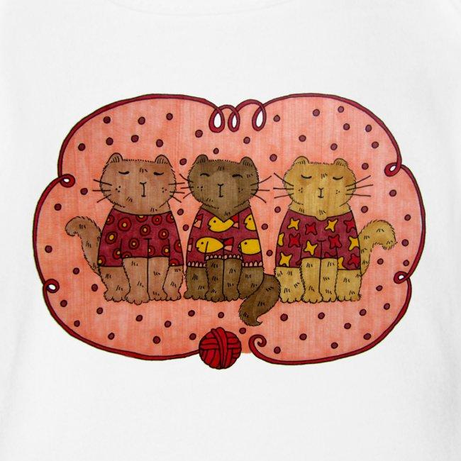 Sweater Cats Onesie