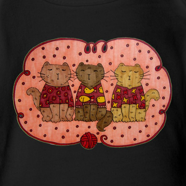 Sweater Cats Onesie