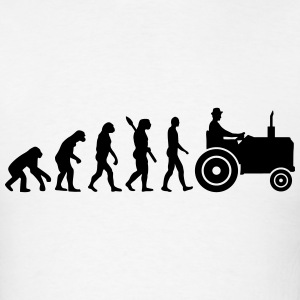 Evolution Tractor T-Shirts - Men's T-Shirt