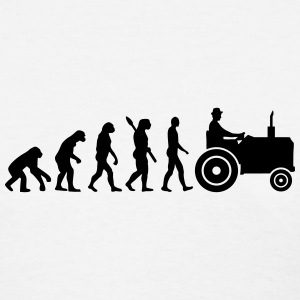 Evolution Tractor Women's T-Shirts - Women's T-Shirt