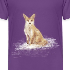 The Lonely Fox - Kids' Premium T-Shirt