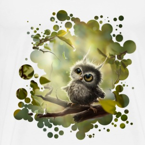 Little Owl T-Shirts - Men's Premium T-Shirt