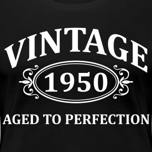Vintage 1950 Aged to Perfection Women's T-Shirts - Women's Premium T-Shirt