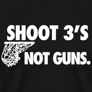 Shoot 3s T-Shirts - Men's Premium T-Shirt
