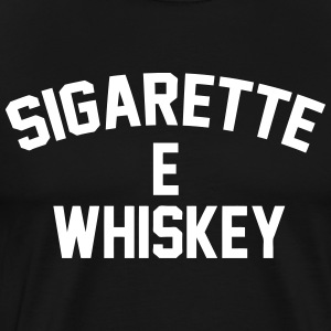 Cigarettes & Whiskey T-Shirts - Men's Premium T-Shirt