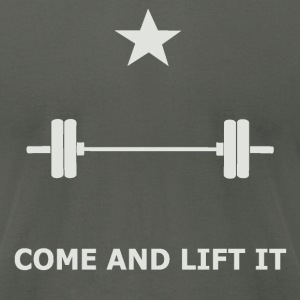 Come and Lift it - Men's T-Shirt by American Apparel