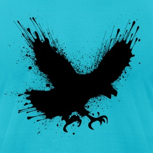 Street art bird T-Shirts - Men's T-Shirt by American Apparel