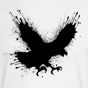 Street art bird Long Sleeve Shirts - Men's Long Sleeve T-Shirt