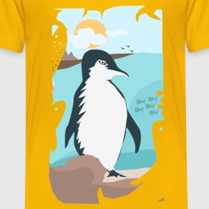 Penguin Vacation - Toddler Premium T-Shirt