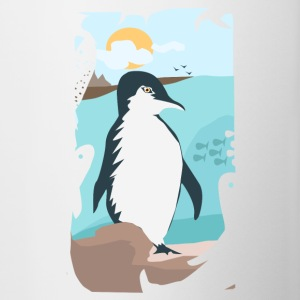 Penguin Vacation - Contrast Coffee Mug