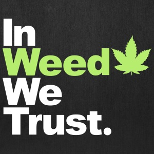 In Weed we trust Bags & backpacks - Tote Bag