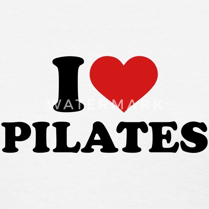 I love Pilates Women's T-Shirts - Women's T-Shirt