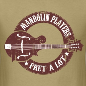 mandolin_players_fret_a_lot T-Shirts - Men's T-Shirt