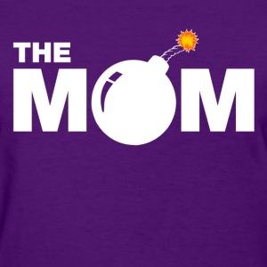the_bomb_mom Women's T-Shirts - Women's T-Shirt