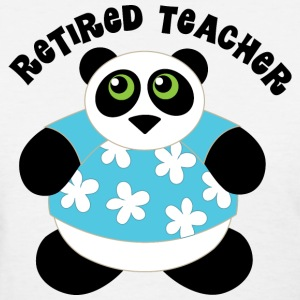 Retired Teacher Women's T-Shirts - Women's T-Shirt
