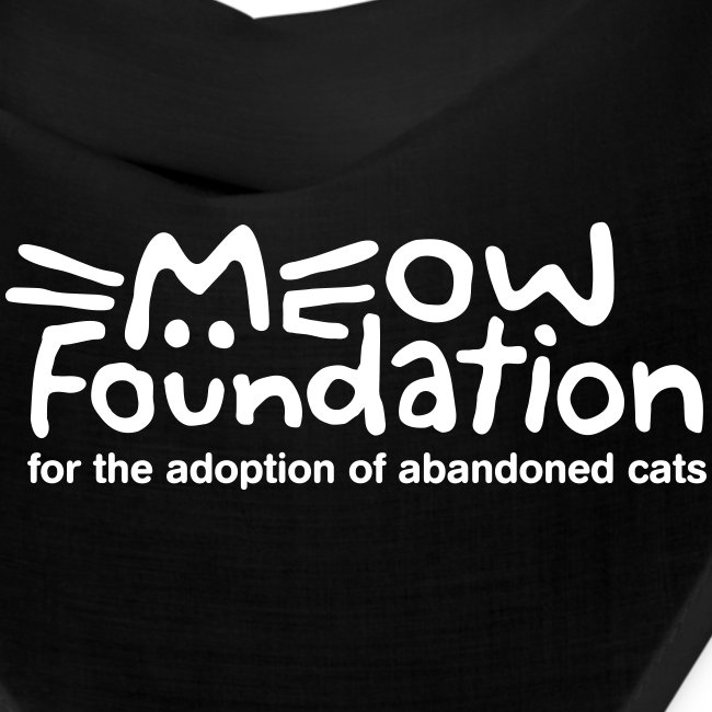 MEOW Foundation Bandana