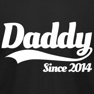 Daddy Since 2014 T-Shirts - Men's T-Shirt by American Apparel