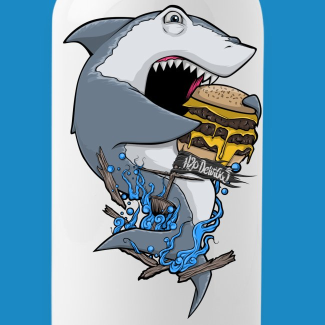 Hungry Shark Water Bottle
