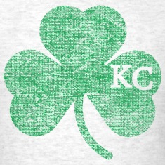 Old Kansas City Irish Shamrock Apparel T-Shirts