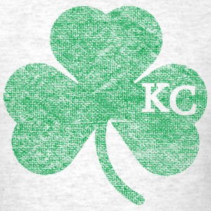 Old Kansas City Irish Shamrock Apparel T-Shirts - Men's T-Shirt