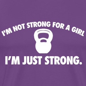 Girl Strong T-Shirts - Men's Premium T-Shirt