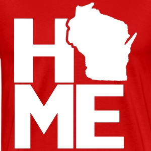 Home Wisconsin T-Shirts - Men's Premium T-Shirt