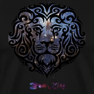 Version-one-lion-space-2 T-Shirts - Men's Premium T-Shirt