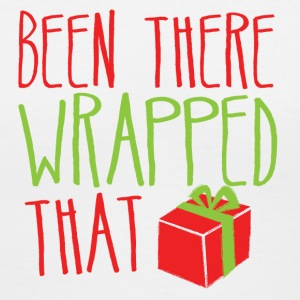 Been there WRAPPED THAT funny Christmas design Women's T-Shirts - Women's V-Neck T-Shirt