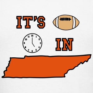 It's Football Time in Tennessee - Men's T-Shirt