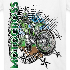 Kawasaki Dirt Bike Shirt Kids' Shirts - Kids' T-Shirt