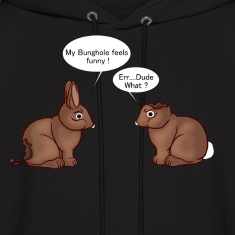 Chocolate Bunnies Hoodies