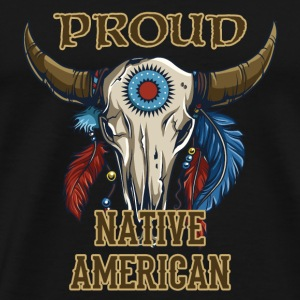 Proud Native American T-Shirts - Men's Premium T-Shirt