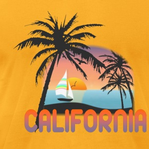 California - Men's T-Shirt by American Apparel