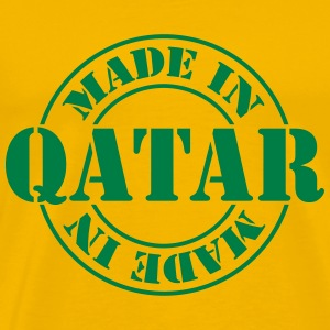 made_in_qatar_m1 T-Shirts - Men's Premium T-Shirt