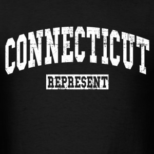connecticut_represent T-Shirts - Men's T-Shirt