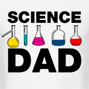 science_chemistry_dad T-Shirts - Men's T-Shirt