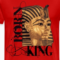 King Tut Born King T-shirt