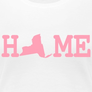 New York State Home Women's T-Shirts - Women's Premium T-Shirt
