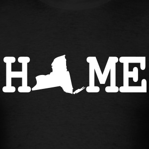 New York State Home T-Shirts - Men's T-Shirt
